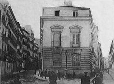 1905. Antes de la Gran Vía. Palacio de la duquesa de Sevillano. | Flickr: Intercambio de fotos