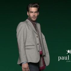 Jon Kortajarena for PKZ Men Collection Fall Winter 2014 Wears Paul Kehl