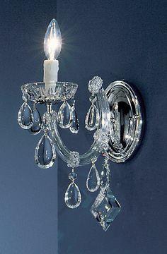 Rialto 1-Light Candle Wall Light