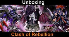 Dark Desire Team: Clash of Rebellions: Unboxing