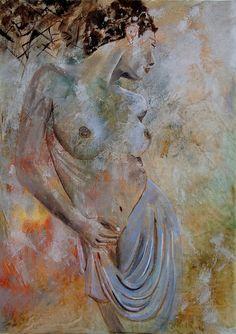 Saatchi Online Artist: Pol Ledent; Oil, 2011, Painting nude 579060