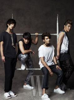 Super Junior - W Magazine June Issue '10 --- yesung, sungmin, ryeo wook, shin dong