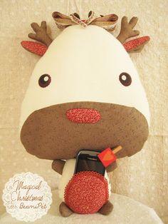 b e a n i p e t: Scarlet Red Christmas Reindeer