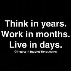 Be In The Moment...