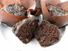 double chocolate-butterscotch muffins by Vanilla Sugar Blog, via Flickr