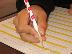 Five tips for helping children improve pencil grasp from an occupational therapist.