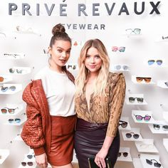 Hailee Steinfeld & Ashley Benson Team Up for Trendy Business Adventure: Photo Hailee Steinfeld and Ashley Benson can do more than sing and act! The stars joined forces to launch their new eyewear line, Prive Revaux - along with Jamie Foxx,… Celebrity Sunglasses, Hailee Steinfeld, Ashley Benson, Pretty Little Liars, American Actress, Eyewear, Leather Skirt, Product Launch, Actresses