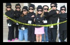 Spy Birthday Party: disguise training, lie detection, code breaking and a final mission where the birthday loot must be uncovered.  Sounds like a lot of fun