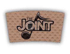 The Joint custom printed Java Jacket™ coffee sleeve.