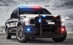 Компания Ford создала мощный пикап для полицейских