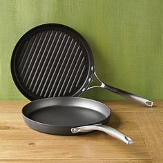 Calphalon Unison Nonstick Slide Griddle & Sear Grill Pan Set
