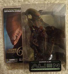 McFarlane Warrior Alien Movie Maniacs 6 Series Alien Resurrection #McFarlaneToys