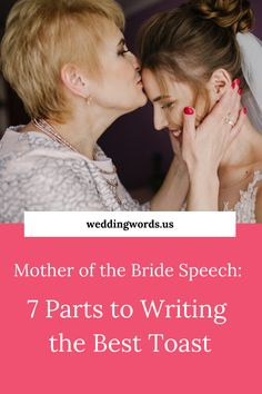 Writing a mother of the bride speech can be stressful but it doesn't need to be. Reference this speech writing outline to deliver a memorable mother of the bride toast that guests and your daughter will adore. Wedding Speaches, Wedding Toasts, Wedding Quotes, Toast For Wedding, Wedding Ideas, Wedding Stuff, Father Of Bride Speech, Father Of The Bride, Mother Daughter Wedding