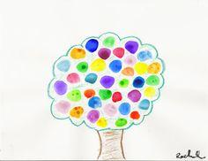 I HEART CRAFTY THINGS: Dot Art--A Lesson on Creativity