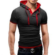 Brand 2016 Mens Polo Shirt Short-Sleeve Solid Poloshirt Men Polo Homme Slim Mens Clothing Camisas Hooded Camisa Polo Shirt 4XL