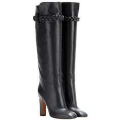 Valentino To Be Cool Patent Leather Boots black runway Leather *Braid detail at top heel *Leather lining and sole *Made in Italy Authentic Valentino Boots, Valentino Black, Black Patent Leather Shoes, Black Leather Boots, Grey Boots, Bootie Boots, Dark Grey, Braid, Runway