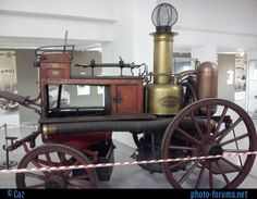 Shand, Mason & Co - Horsedrawn Fire Engine