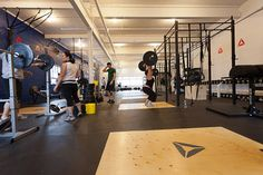 warehouse gym design - Google Search