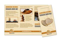 """Ekmek İsrafını Önleme Kampanyası - Kampanya Önerisi ve Tasarımı / Project & Design of """"Preventing Bread Waste"""" Campaign Graphic Design, Visual Communication"""