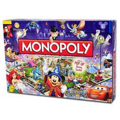 Disney Monopoly Game - The Disney Theme Park Edition 3 400000889986 The Disney Theme Park Edition III Monopoly Arte Disney, Disney Theme, Disney Love, Disney Stuff, Disney Ideas, Disney Parks, Disney Resorts, Monopoly Game, Monopoly Board