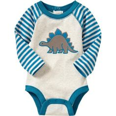Old Navy Graphic Raglan Bodysuits For Baby ($7) ❤ liked on Polyvore