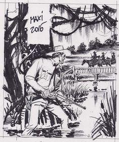 Esboço da capa do Maxi Tex 2016