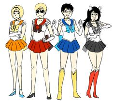 Image result for homestuck sailor moon