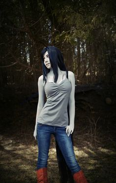 Marceline real life role play-adventure time-