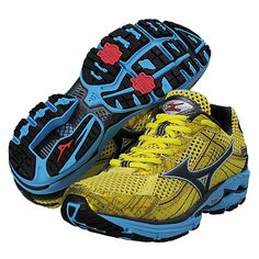 Mizuno Women's Wave Rider 15. I have these in bright blue.. about time to start breaking in another pair!