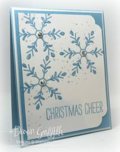 Christmas Cheer card by Dawn Griffith