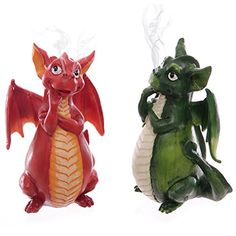 Cute dragon ornaments, put some incense in the bottom and the smoke comes out of their snout! Insence Holder, Buddha, Dragon Incense Burner, Mythical Dragons, Dragon Figurines, Cute Dragons, Incense Cones, Green Dragon, Fantasy Dragon