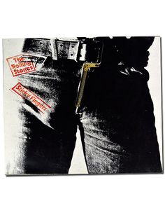1971: The Rolling Stones Put Out Sticky Fingers Any question about the title's euphemism was quickly put to bed with one look at the, ahem, prominent album artwork—the fly on a pair of black jeans. The zipper even worked.