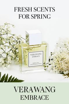 This Mother's Day, shop Vera Wang Embrace Green Tea and Pear Blossom. A modern fresh floral scent that is the perfect gift for all the mothers in your life. Vera Wang Perfume, Pear Blossom, Orange Blossom, I Love Mom, Holiday Themes, Mother Gifts, Mothers, Smell Good, Small Gifts