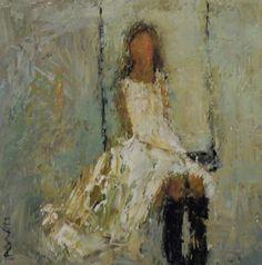 holly irwin swing art swing (little white dress LWD)