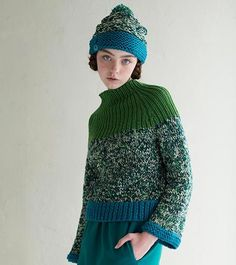 Modern sweater - gorgeous picture