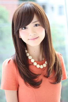 Haircut asian hair side bangs ideas for 2019 Hairdos For Short Hair, Side Bangs Hairstyles, Winter Hairstyles, Girl Hairstyles, Girls Haircuts With Layers, Layered Haircuts, Cute Girl Haircuts, Asian Hair, Cute Beauty