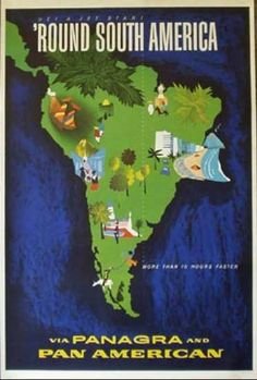 South America - Pan Am/Panagra.  Rich in History, Culture and Traditions; in keeping with my story http://www.amazon.com/With-Love-The-Argentina-Family/dp/1478205458