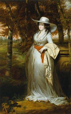 Mrs. Downey, Sir Henry Raeburn, ca. 1789; TC N01146