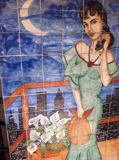 Mexican tiles, Mexican art