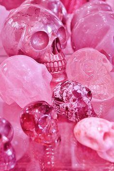 pink skulls