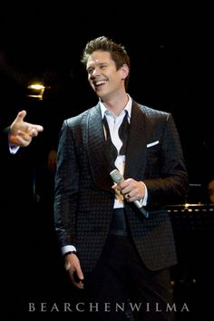 My godson, David Miller in Hong Kong, Il Divo tour 2012. So proud of him...a truly good man and fine tenor!