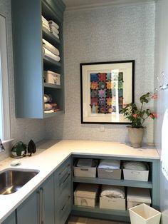 design indulgence: LAUNDRY ROOM