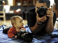 Armazém da Cidade recebe oficina de fotografia para pais e filhos
