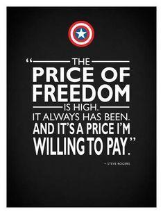Captain America – Liberty Giclee Print by Mark Rogan - Avengers Endgame The Avengers, Avengers Quotes, Marvel Quotes, Marvel Memes, Marvel Dc Comics, Chris Evans, Steve Rogers, Captain America Quotes, Captain Quotes
