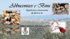 Sabato 23 aprile 2016 il comune di Pattada organizza,con le varie associazioni locali,un percorso enogastronomico per le vie del paese....siete tutti i benvenuti