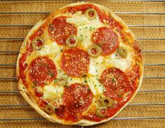 Lucy's Diabetic Friendly Low Carb Meals: Pizza