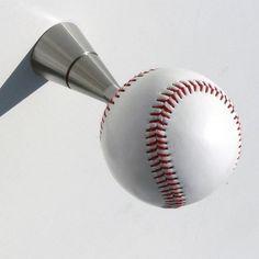 Baseball Closet Door Knobs   http://retrocomputinggeek.com ...