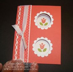 SUO Double Peek A Boo Card by Sandy Murphy - Cards and Paper Crafts at Splitcoaststampers