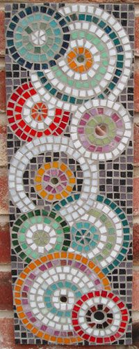 10- Be inspired by this mosaic piece by creating a mosaic on your own project. -2pt