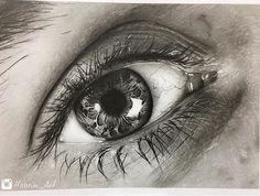 Amazing Learn To Draw Eyes Ideas. Astounding Learn To Draw Eyes Ideas. Pencil Art Drawings, Art Sketches, Realistic Eye Drawing, Eye Sketch, Sketching Tips, Cute Girl Drawing, Eye Photography, Illusion Art, Eye Art